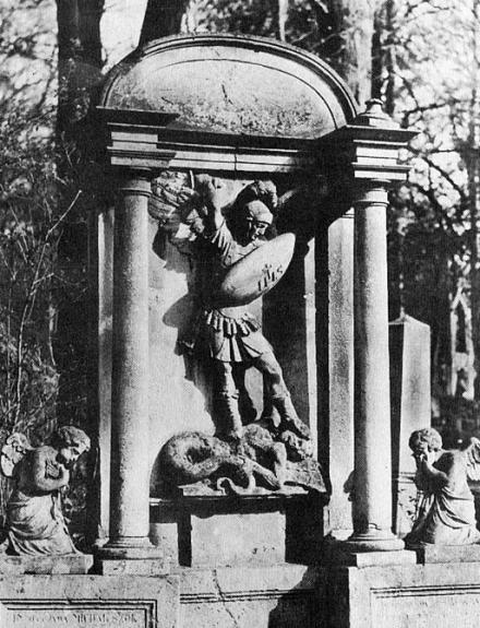 Fotografia 7: Pomnik na grobie Michała Szoka
